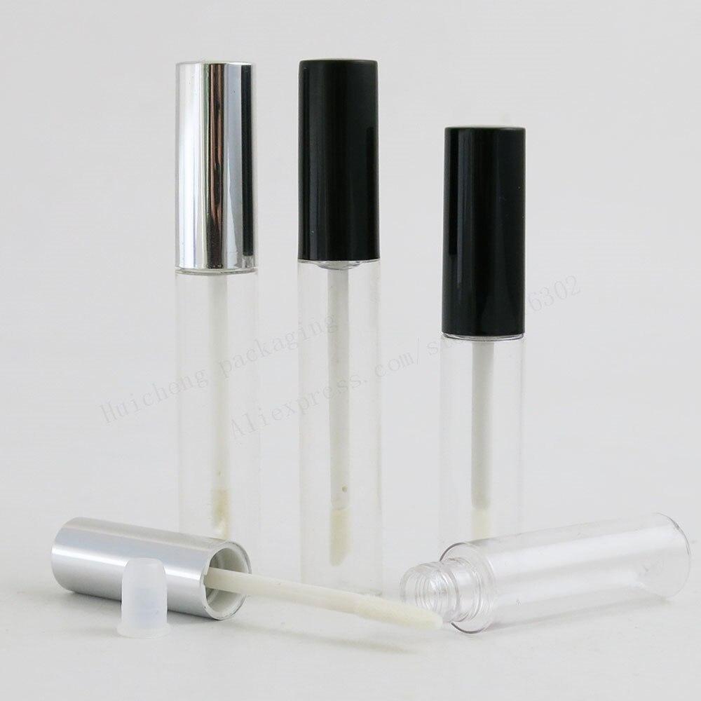 100x8 ml 10ml 빈 립스틱 튜브 립 밤 튜브 립스틱 컨테이너 립스틱 병 립글로스 튜브/브러쉬/캡-에서리필 병부터 미용 & 건강 의  그룹 1