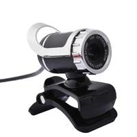 Computer USB Webcam 12 Megapixel Ad Alta Definizione Fotocamera Web Cam 360 Gradi Built-In MIC Clip-on Per Skype PC