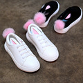 High quality Kids Shoes girls PU Leather Rabbit ears Children Sneakers girl Baby Shoes Sport Autumn Winter Children Shoes
