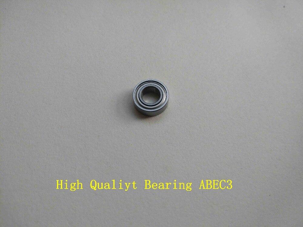 Hybrid Ceramic Ball Bearing Bearings ABEC-3 YELLOW 5x13x4 mm QTY 4 S695-2RS