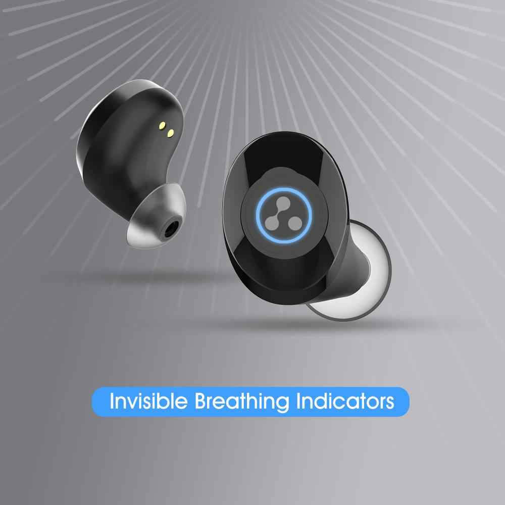 Sylaba S105 bezprzewodowy zestaw słuchawkowy Bluetooth mini słuchawki sportowe Bluetooth V5.0 sylaba S105 słuchawki TWS bezprzewodowy zestaw słuchawkowy Stereo
