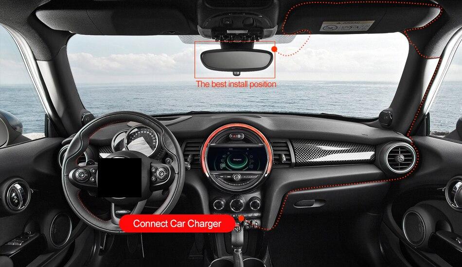 RUCCESS R40S 4G Dash Cam Car DVR Wifi GPS Camera Remote Monitor ADAS Smart Android 5.1 Dual Lens 1080P Nigth Vision Dashcam DVRs 20