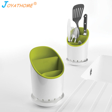 Joyathome Spatula Storage Rack Cutlery Fork Draining Plastic Drainable Chopsticks Shelf Hanger