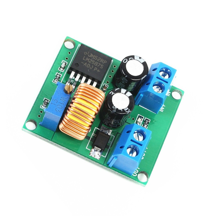 DC-DC Step Up Power Supply Module 3V 5V 12V to 19V 24V 30V 36V 1A Adjustable