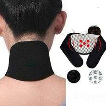 Магнитная терапия, массажер для шеи, САМОНАГРЕВАЮЩАЯСЯ Массажная подушка для шеи, облегчающая боль, грелка для шеи, защита, китайский медицинский массажер, инструмент