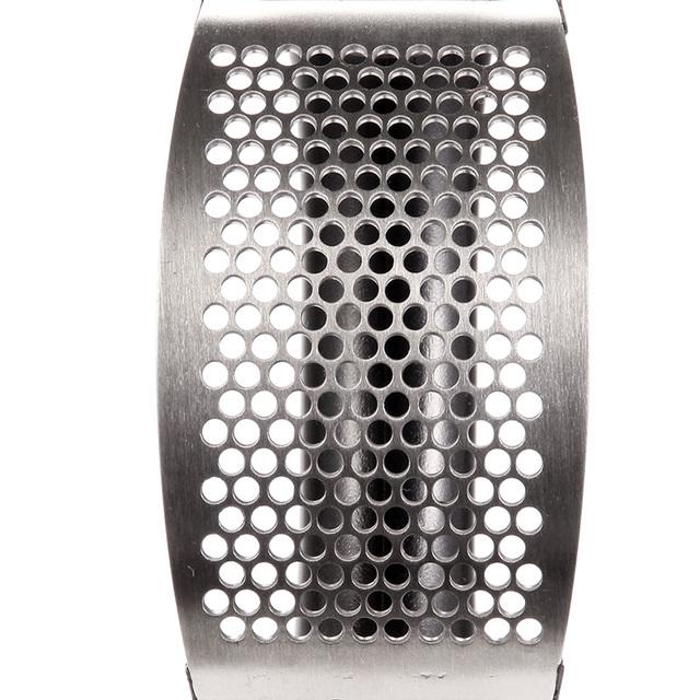 Rustfrit stål hvidløg Press