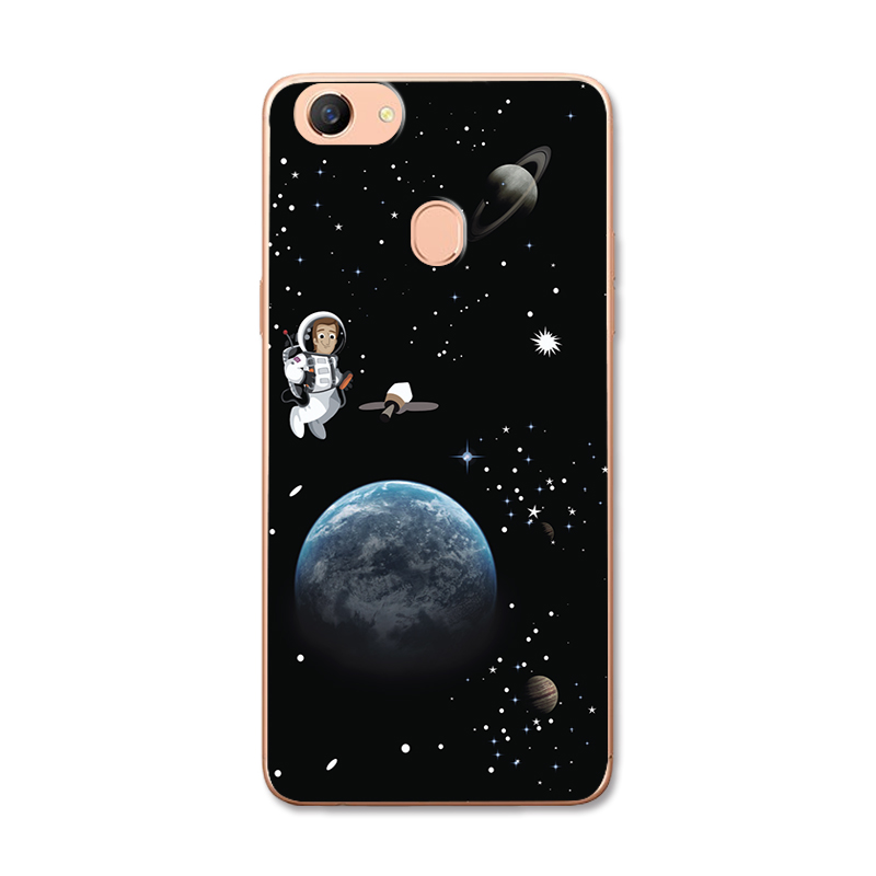 Chic Painted Lovers Phone Bags Cases For OPPO F5 Silicone Back Cover Case For OPPO F5 Covers Coque OPPO F5 A73 A73T 6.0