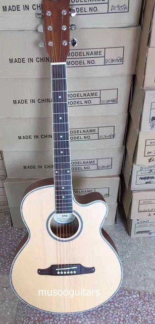 Brand new custom acoustic guitar