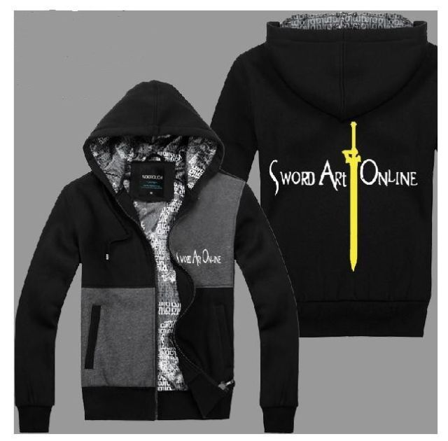 Autumn and winter the sword sweatshirt thickening cardigan male eleomargaric outerwear female long sleeve clothes lovers