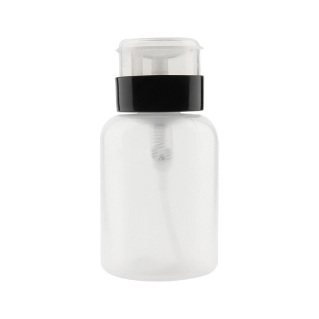 Top Quality Empty Pump Dispenser Liquid UV Gel Polish Nail Art Clean Remover Bottle 200ml