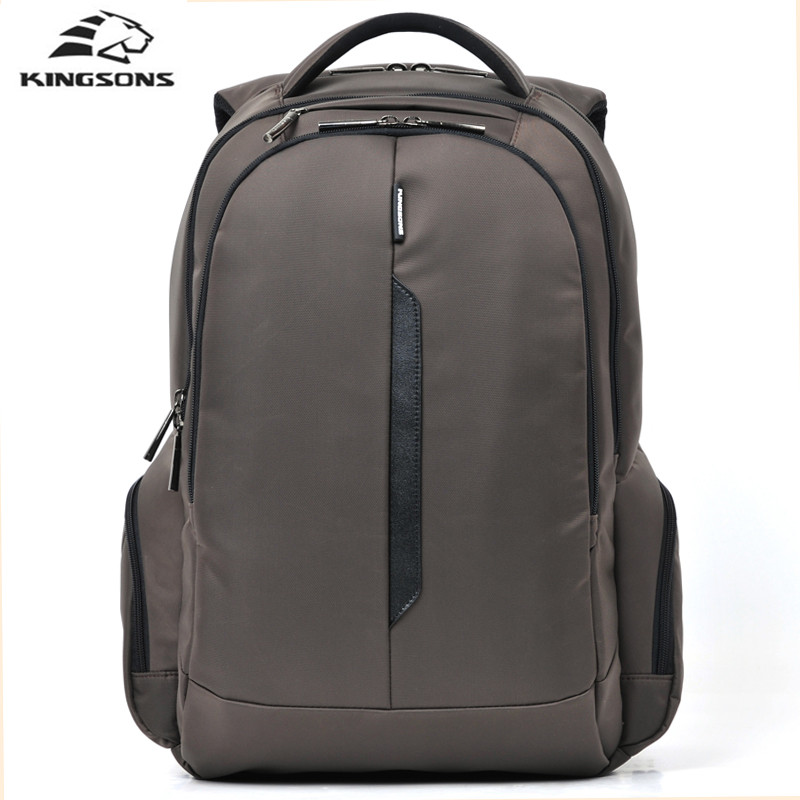 Kingsons Brand 15.6 inch School Bags Shockproof Laptop Backpack Nylon Waterproof Computer Notebook Bag for Boys Girls kingsons brand men women laptop backpack 15 6 inch notebook computer bag designer school backpacks for teenagers boys girls