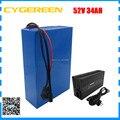 1500 Вт 52 в 34ач батарея для электровелосипеда 51 8 в 34ач литиевый аккумулятор для скутера использовать для LG 3400mah сотовый 30A BMS с зарядным устройс...