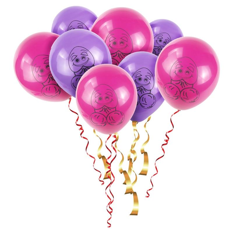 100pcs Bachelorette Balloner Samme Penis Forever Penis-9348