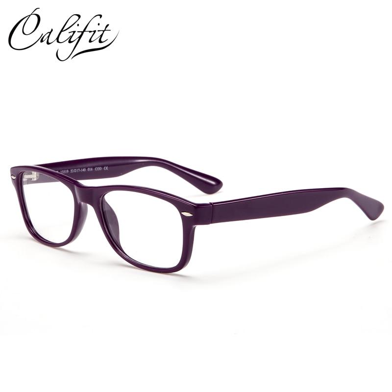CALIFIT Vintage Optical Glasses Women Classic Ladies Myopia 1.67 Refrective Index Lenses Prescription Glasses Brand Design New