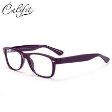 8b735ee3abc CALIFIT Vintage Optical Glasses Women Classic Ladies Myopia 1.67 Refrective  Index Lenses Prescription Glasses Brand Design New