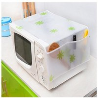 1pc Microwave Oven Cover Storage Bags Fresh Pattern Kictchen Home Dustproof Organizer Storage Bags