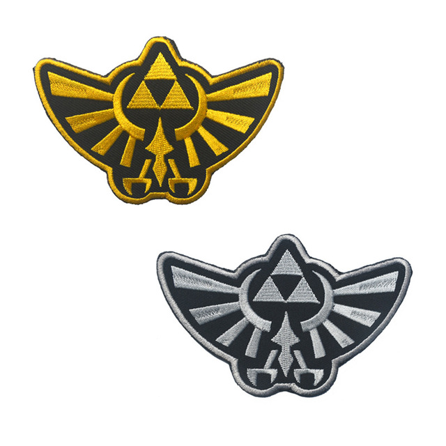 The Legend Embroidery Patches Action Adventure Video Game Tactical