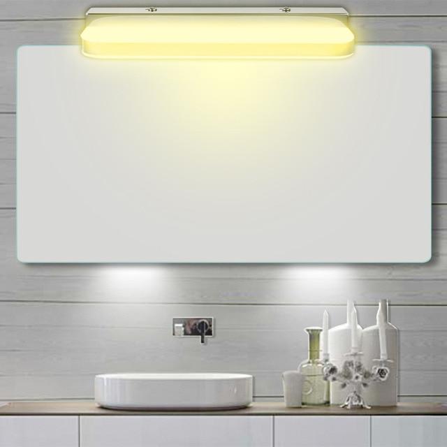 Stile moderno LED Luce Frontale A Specchio Bagno Lampada Da Parete A ...