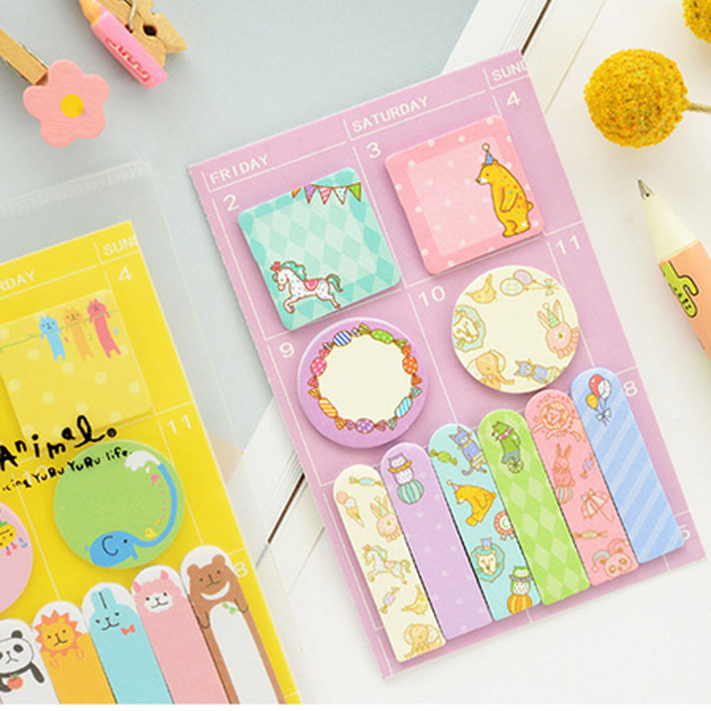 2018 Kawaii Unicorn Memo Pad Cat Sticky Notes Memo Notebook Weekly Planner Stickers Cute Stationery School Chancery Supplies 4 pcs lot cat memo pad cute kawaii animal sticky notes memo notebook stationery papelaria escolar school supplies memo pad gift