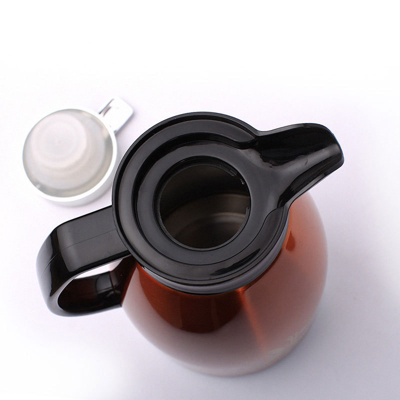 Insulation pot fashion printing flower NO.304 stainless steel vacuum coffee pot thermos bottle warm pot