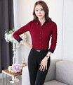 Estilos de Moda de nova OL Feminino Pantsuits Com Tops E Calças de Negócios Profissional Trabalho Desgaste Escritório Senhoras Calças Conjuntos