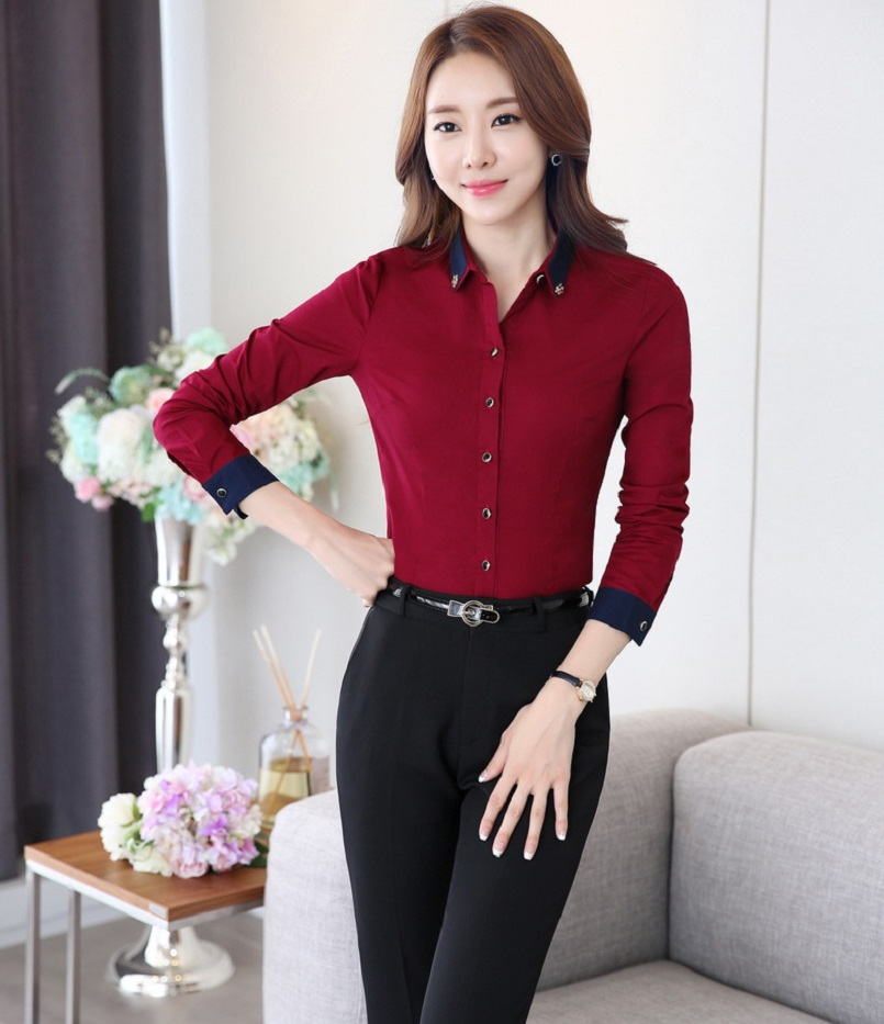 20eaf0685568 New Fashion OL Styles Female Pantsuits With Tops And Pants Professional  Business Work Wear Ladies Office Trousers Sets-in Pant Suits from Women s  Clothing ...