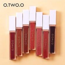 O.TWO.O 7 개/대 미러 립 글로스 모이스춰 라이징 라이트 젤 끈적 끈적한 쉬머 립스틱 리퀴드 메이크업 스무스 립글로스 매직
