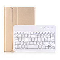 Bluetooth Wireless Keyboard Tablet Case For iPad Mini 4 Detachable PU Leather Case Cover Protector 7.9 inch PU