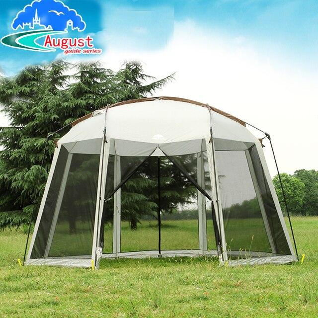 Sonnenschutz Garten august achteckige pergola luxus garten arbor cing partyzelt