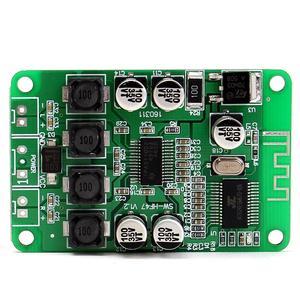 Image 3 - LEORY HF47 TPA3110 2 × 15 ワットデュアルチャンネルの Wirelss bluetooth スピーカーデジタルアンプボード天井スピーカー DC 12 V 1A オーディオ Amplifi