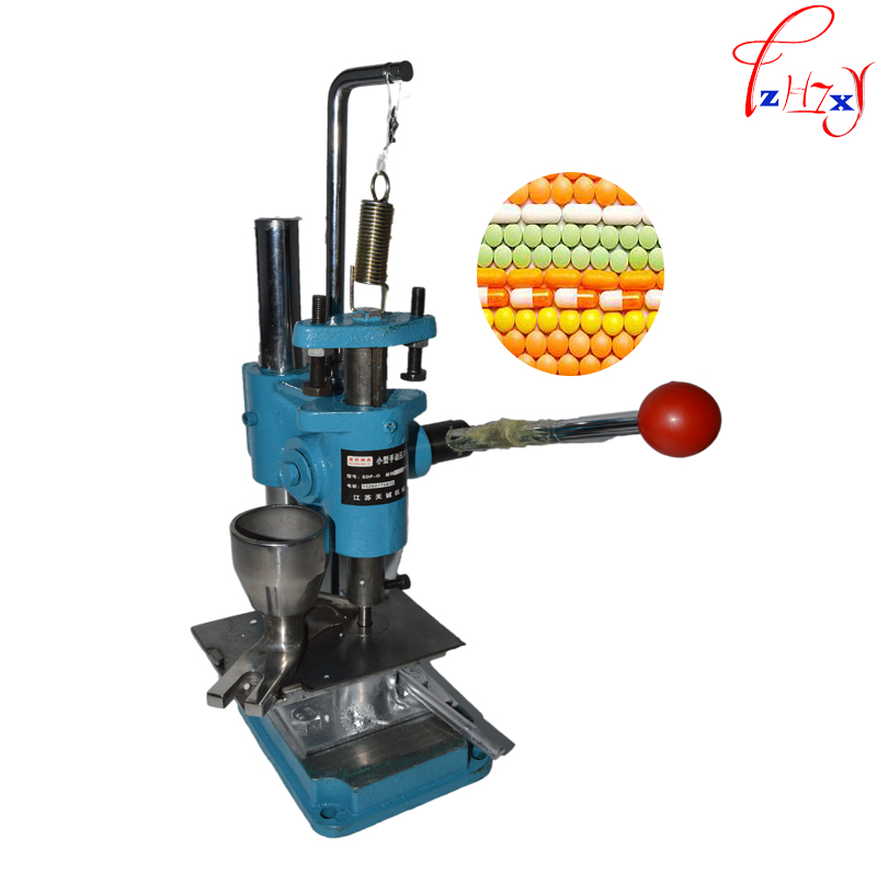 Type de poussée de Main machine de presse à comprimés à poinçon poudres à base de plantes comprimés machine pilule machine d'estampage SDP-0