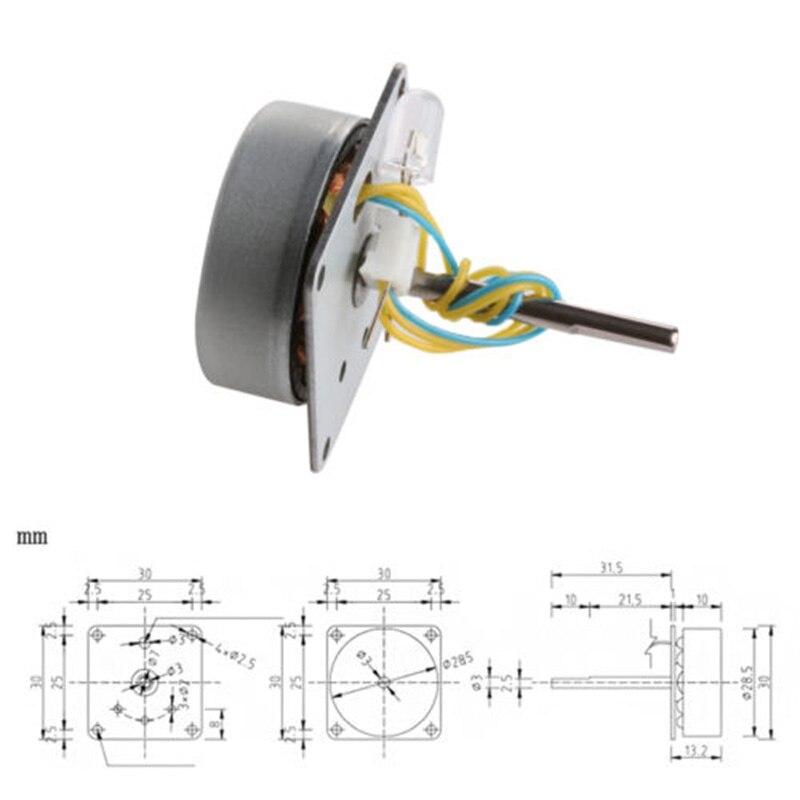 3-phase Alternator Generator AC Durable Micro Turbines 3V-24v 12v 0.5-12W Three-phase Wind Alternator Generator
