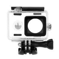 40M Diving Xiaomi Yi Accessories Waterproof Case For Xiaomi Xiaoyi Action Camera Cover Sport Camera Yicamera
