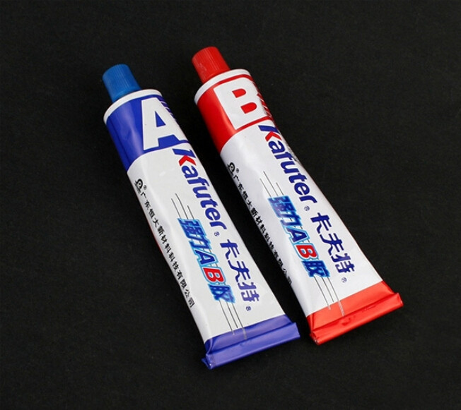 High Quality Superior Strength Kafuter AB 70g Modified Acrylic Glue Adhesive For Metal Plastic Wood Crystal Glass Jewellery