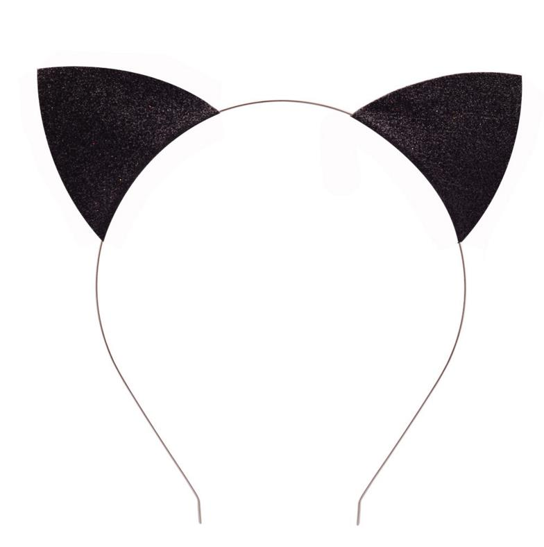 photo about Printable Cat Ears identified as US $86.24 12% OFFChristmas Cosplay catwomen headbands older people Young children glitter Cat Ears Halloween Extravagant Gown Headband Gown Components get together desire-within