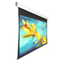 16:9 Acoustically Transparent FabricLuxury Screen Motorized Screen with Aluminum case, for Cinema