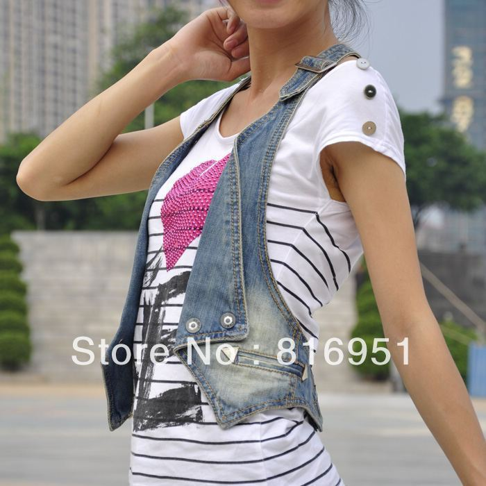 jacket coat vest jean jacket for women xl short denim