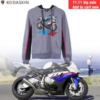 KODASKIN Racer Hoodies Men Fashion Hoody Jacket Hooded Motorcycle Racing Team Sweatshirts for BMW S1000RR