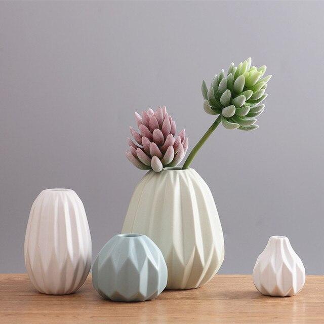 Nordic Modern Ceramic Vase Minimalist Home Furnishing Decoration