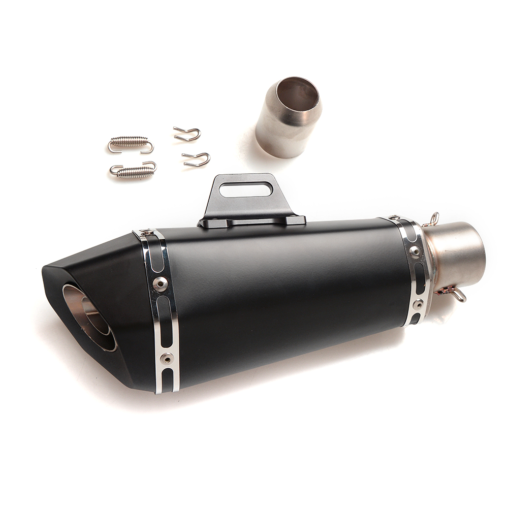 Universal Motorcycle Exhaust Pipe Scooter Modified 51mm exhaust Muffler pipe FOR SUZUKI GSR400 GSR600 GSR750 B-KING1300 laser marking sc motorcycle exhaust pipe scooter modified 61mm 51mm moto exhaust muffler pipe for kawasaki er6n er6f z900 z250