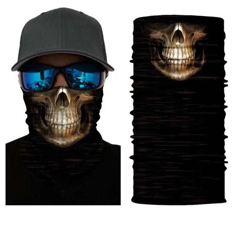 maschera per bocca scheletro