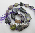 Charoite Natural gem stone beads 14-25mm nugget pedra solta Beads.5strings/lot