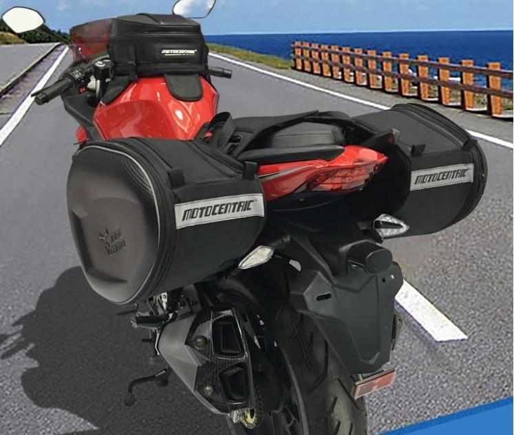 MotoCentric Motorcycle Trunk motorcycle helmet bags racing bags outdoor waterproof multifunctional bags side bag кофры komine