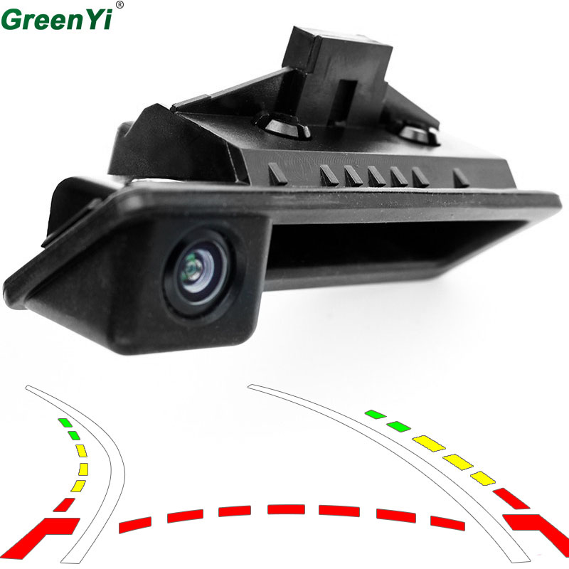 Dynamic Track Rear View Camera Car Reverse Back Boot Trunk Handle Camera Special For BMW 5 series/X5/3 series/X1 08-12 E39/E90 for bmw 1 3 5 x1 x5 x6 e46 e82 e88 trunk handle oem car rear view camera reverse camera hd ccd rca ntst back up parking camera