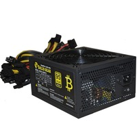 High Efficiency 2000W Max Server PSU Power Supply Mining Machine Power Supply For ATX For Gold Mining Support Up To 8 GPU
