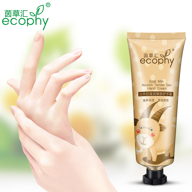 Handcreme Goat Milk Whitening Anti-aging Hand Cream Of Pigment Spots Exfoliating Hand And Foot Care Banana Fade Moisture Lotion