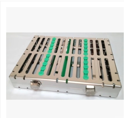 1PC Dental Instrument Disinfection Stainless Steel Box For 10 Pieces of Instrument Disinfection