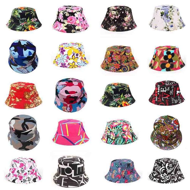 Fisherman Hats Bucket-Hat Sunscreen-Caps Harajuku Panama Outdoor Hip-Hop-Cap Unisex Women