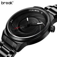 Break Luxury Brand Lady Sport Watches Women Stainless Steel Wristwatch Women Creative Ladies Wrist Watch Female Relogio Feminino