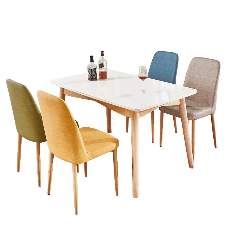 US $1629.13 36% OFF Comedores Mueble Redonda Meja Makan Room Dinning  Kitchen Pliante Comedor Retro Wooden Tablo Mesa De Jantar Bureau Dining  Table-in ...